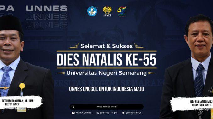 Dies Natalis UNNES ke-55