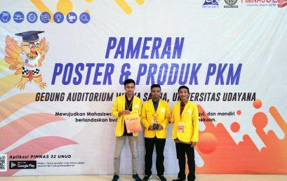 Juara Harapan 3 dari Hasil Kolaborasi di PIMNAS 2019