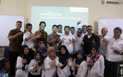 Dukung Program SmartCity Kota Semarang, FMIPA UNNES ajak MGMP Matematika SMP implementasikan MathCityMap