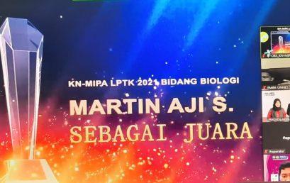 Kontingen FMIPA UNNES sukses di Kompetisi Nasional MIPA LPTK Tahun 2021